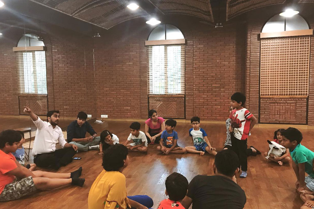 Individual Enact Session in Children Workshop
