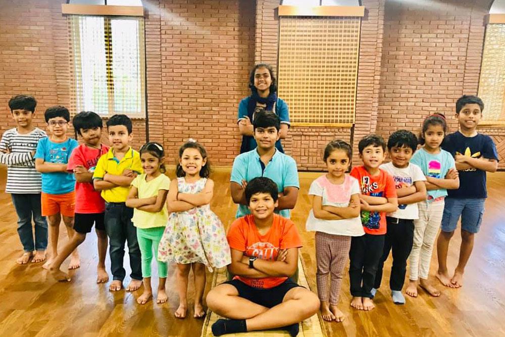Children Workshop Participants Before Showcase