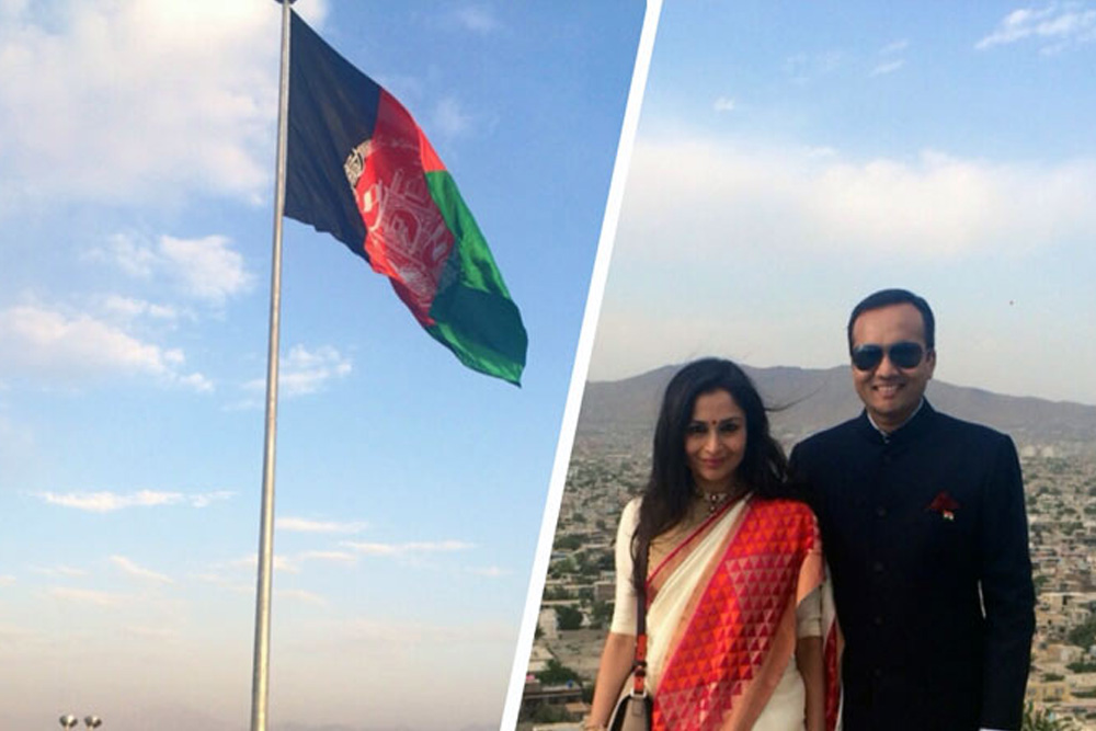 Flag Foundation of India gifts Afghanistan its largest flag