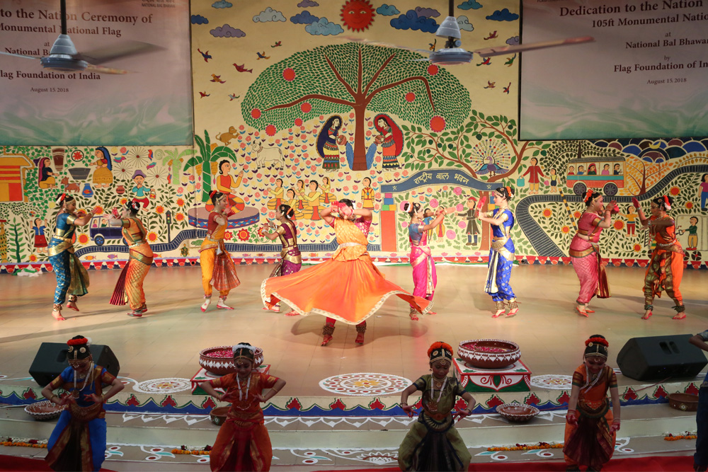 Cultural Showcase of Indian Heritage on 72nd Independence Day at FFOI Event