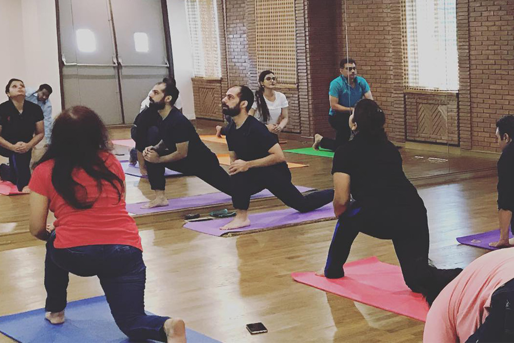 Morning Yoga Classes At JAI