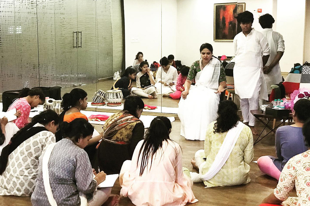 Kathak Intensive With Intensive Unit