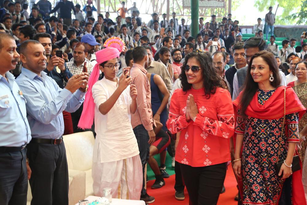 Renowned Sportswoman Ms. Babita Phogat at NBB