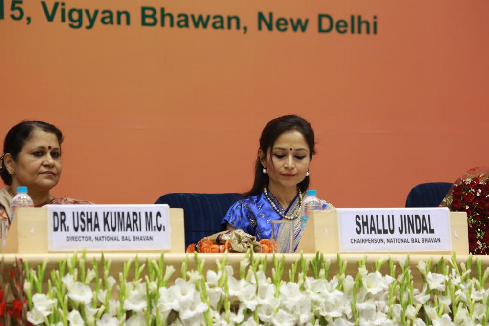 Chairperson, Shallu Jindal at Bal Shree Honor, Vigyan Bhavan