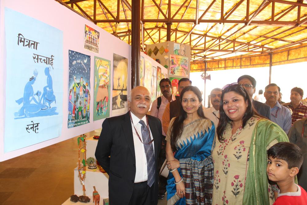 Walk Thru of Children Exhibition on Mitrata-Sachai-Prem at NCA 2016