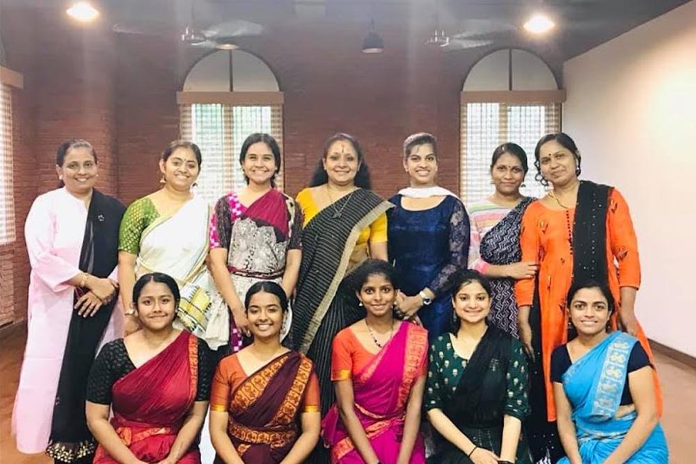 #Mohiniyattam Workshop with Guru Jayaprabha Menon