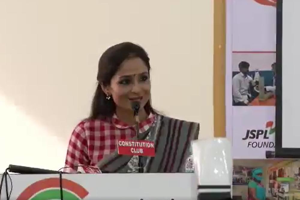 Smt. Shallu Jindal`s Speech on Rashtriya Swayamsiddh Samman