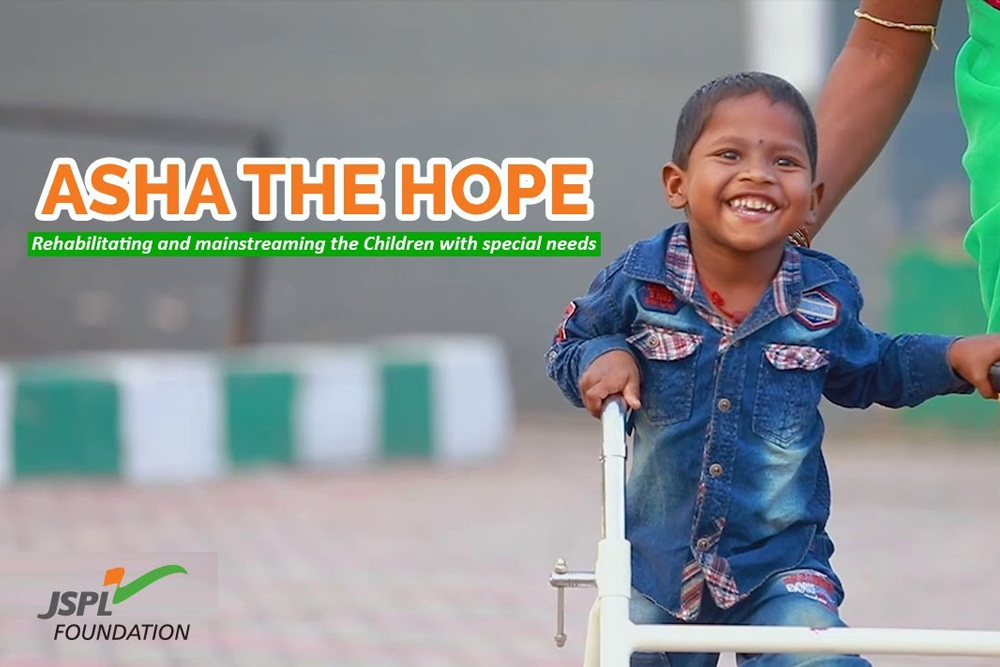 Asha the Hope - Rehabilitation and mainstreaming the Children with special needs