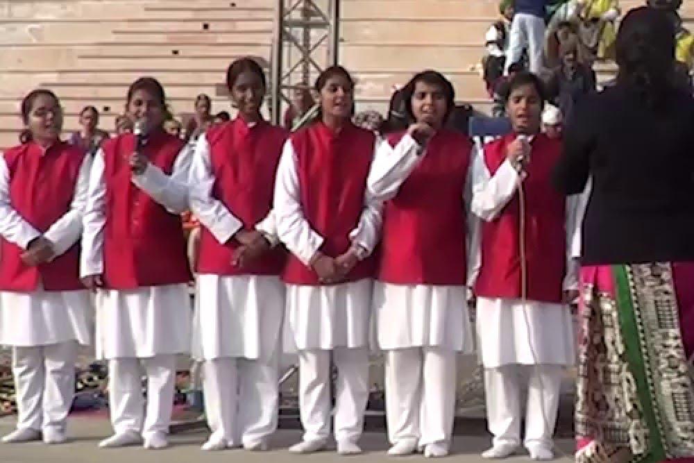 National Bal Bhawan : `Seema Darshan Program` @Wagah Border  67th Republic Day