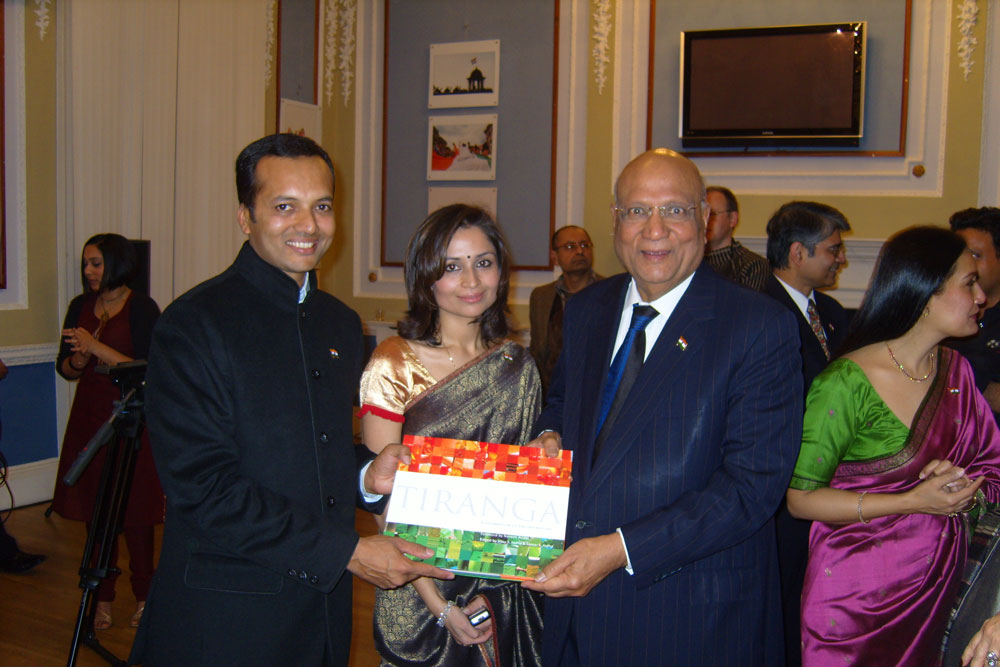 In January 2005, the Foundation produced an international coffee table book, `Tiranga-A Celebration of the Indian Flag`.