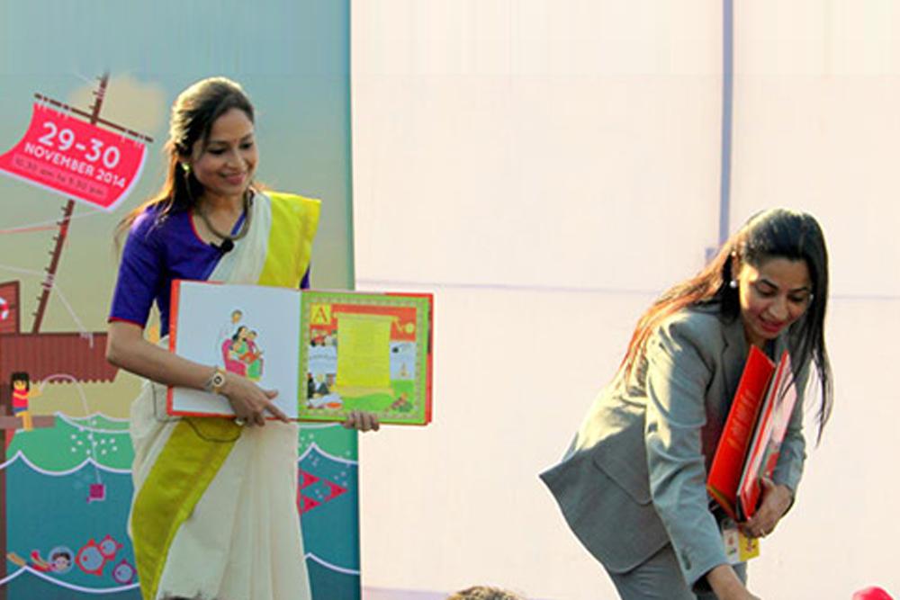 Reading of India- An Alphabet Ride at Bookaro Book Festival